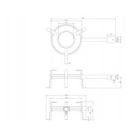 Outdoor gas burner G-250 (7,5kW)