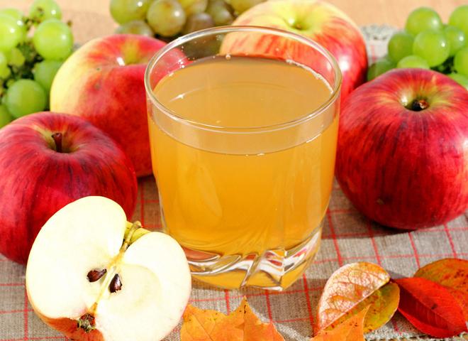 Kак сделать яблочный сок
